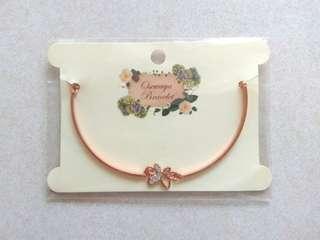 Osewaya Butterfly Rose Gold Bracelet