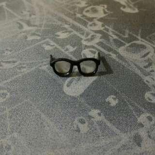1/6 scale toy black glasses