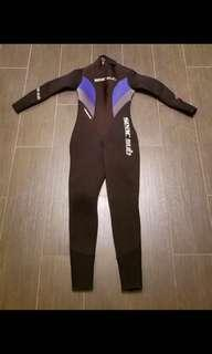Seac sub 5mm Wetsuit潛水保暖衣 XS