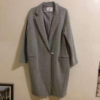 🚚 Jolie17 灰色羊毛大衣