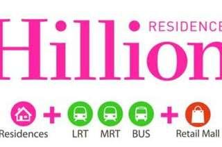 Hillion Residences, integrated with retail mall