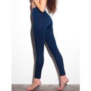 $92 American apparel easy jeans size XXS - 2XS (0)