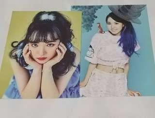 Red Velvet Official Wendy SMTOWN 2014 and 2017 Brochures