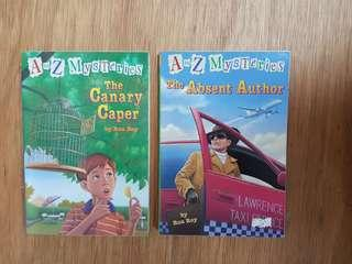 A to Z Mysteries: The Canary Caper. : The Absent Author