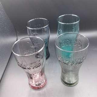 🚚 【sigmanet家庭百貨】近全新麥當勞收集可口可樂360毫升玻璃杯(四個一起賣)