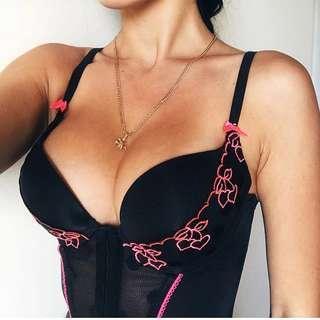 La Senza corset lingerie size S - 32B, 34B, 32C, 34A