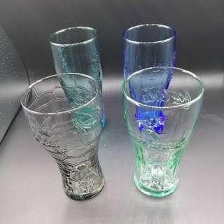 🚚 【sigmanet家庭百貨】近全新麥當勞收集可口可樂360毫升玻璃杯1(四個一起賣)