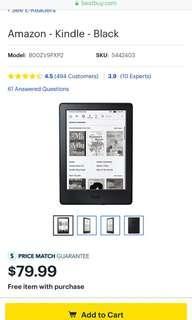 🚚 Kindle wifi版 4GB 黑色 廣告版