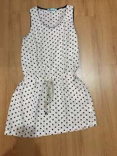 Kashieca Polka Dot Cover Up Dress