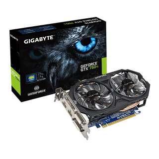 技嘉 Nvidia GTX750ti 2gb
