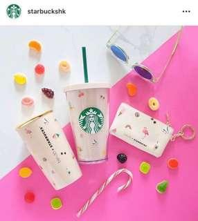 Starbucks 環保杯 連飲管