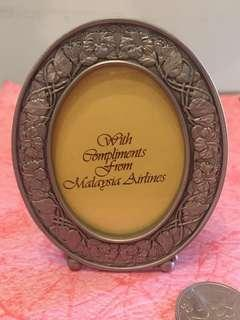 SMALL PHOTO FRAME, CRAFTED SPECIALLY FOR MALAYSIA AIRLINES BY SELANGOR PEWTER