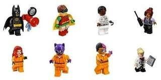 Lego Batman Movie 70912 Minifigures Set of 12