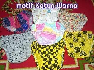 Celana dalam anak dan balita murah motif lucu imut BAHAN KATUN