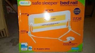 safe sleeper bed rail