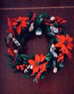 🚚 Christmas Wreath