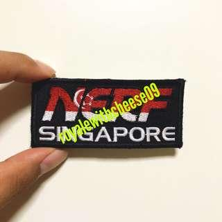 Nerf Singapore sew on patch