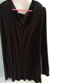 Giordano black dress