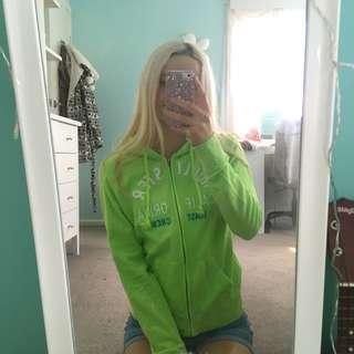 Green Hollister jumper