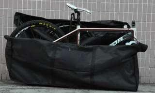 Heavy Duty Bicycle Bag for weekend end travelling - Suits Road, Hybrid and MTB
