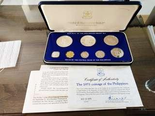 1975 Proof Set with Box and Certificate