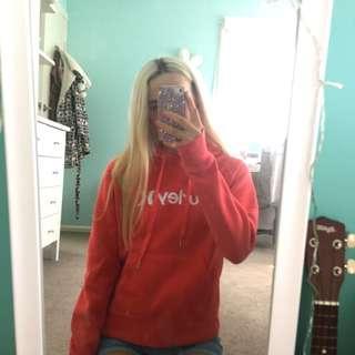 Pink Hurley hoodie