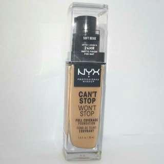 NYX Can't Stop Won't Stop - Soft Beige