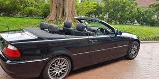 BMW E46 318CI CABRIOLET