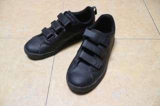 Adidas neo full black /w velcro