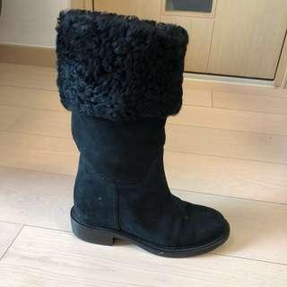 Chanel boot size39.5