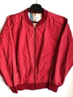 Vintage Pink Bomber Jacket