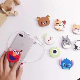🚚 Cute Kawaii 😍🥰😘Cartoon Hp pop socket!