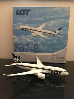 飛機模型 1:400 LOT 波蘭航空 B787-8