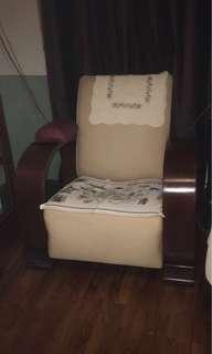 Art Deco a pair armchair teakwood