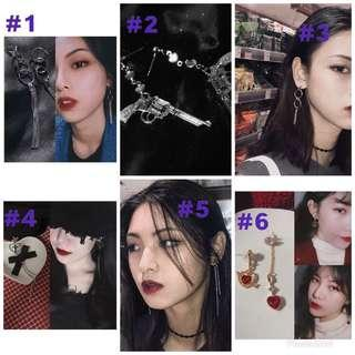 BN CHEAP ULZZANG DANGLING EARRINGS CLEARANCE SALES [INSTOCKS]
