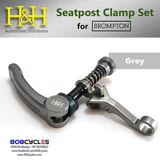 H&H Seatpost Clamp Set for Bromptons