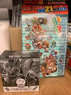 全新 《不議價》OP One Piece 海賊王 DWC WCF Jump 50th 50週年 應募品 卓洛 山治 zoro sanji