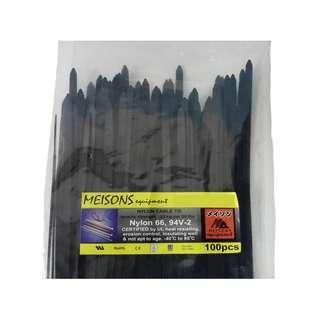 """Meisons cable tie 3.5mm x 150mm (6"""") 100pcs per pack"""