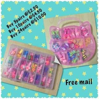 Children's hair clip / rubber band