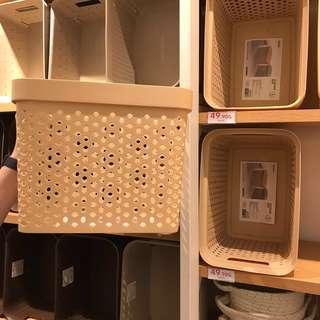 Miniso Container / Storage Box / Tempat Penyimpanan