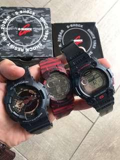 G-shock x3 - Sell together