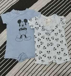 H&M Onesies Mickey Mouse (3-9 months)