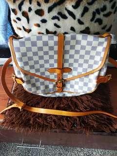 Preloved Lv sling azur bag!  With datecode!