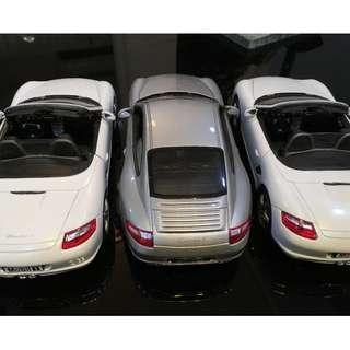 Porsche (for 3 cars) 1/24