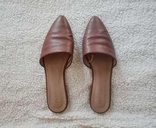 Pointed Half Shoes