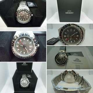東方錶 GMT機械錶 灰色