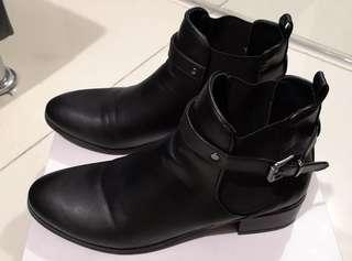PROMOD Women's Black Ankle Boots