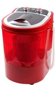 Portable mini washing machine - 3kg Load Great for Baby Clothes or Rent Unit