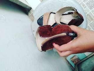 Sepatu heels second