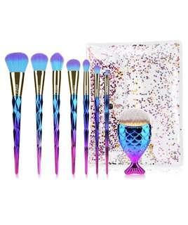🚚 Unicorn Mermaid Brushes